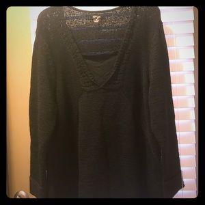 Nice black comfy sweater